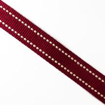 紅底米點/2.5公分提帶