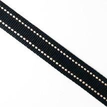 黑底米點/2.5公分提帶