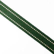 墨綠米點/2.5公分提帶