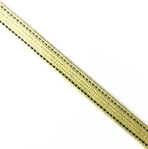 淡綠黑點/1.2公分提帶