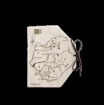 文化首都地圖筷套